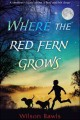 Book Cover: Where the Red Fern Grows