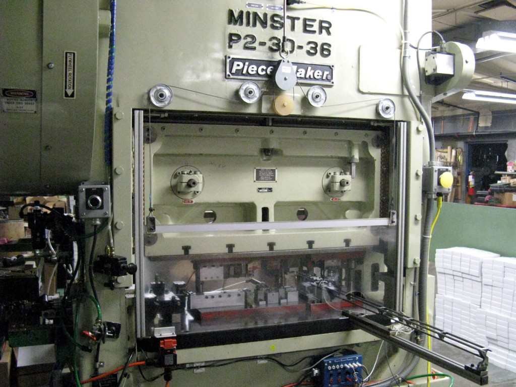 Minster Piece Maker press