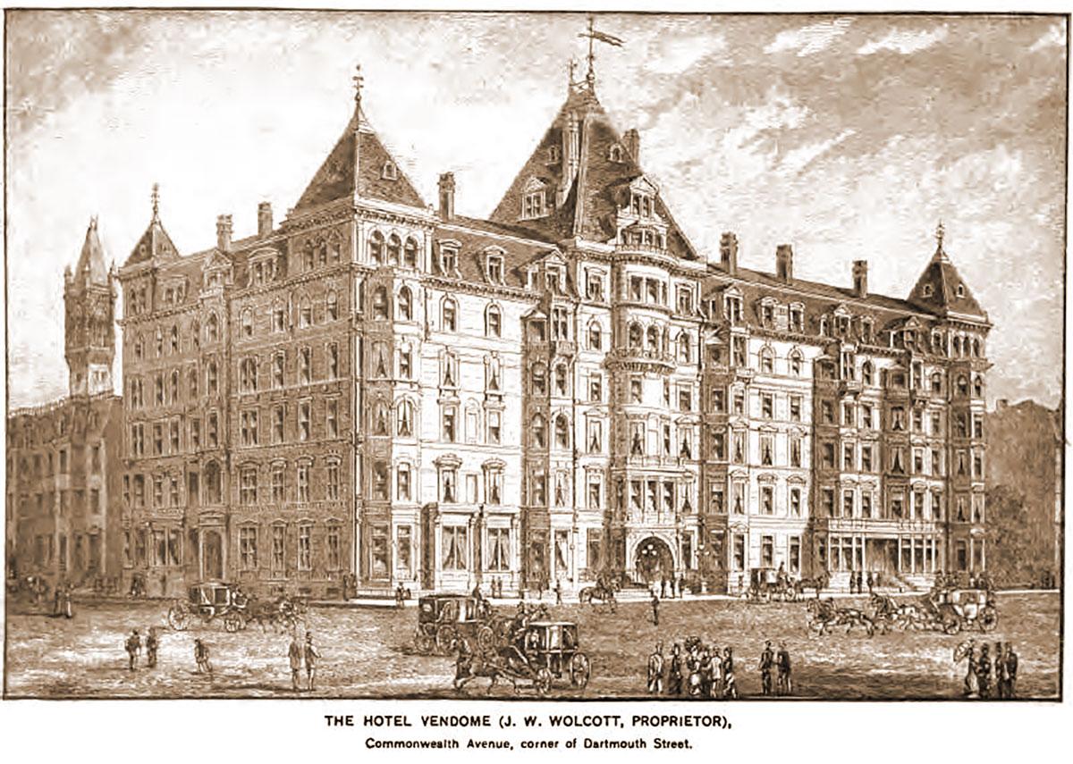 Boston Hotel Vendome Fire of 1972