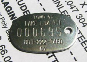 Ketchum dog license tag