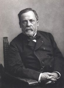 Photograph of Louis Pasteur by Nadar