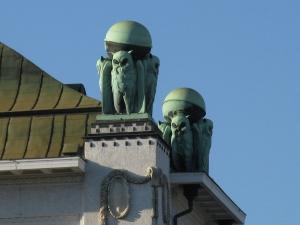 Art Nouveau Owls