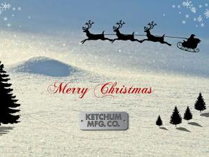 Merry Christmas from Ketchum Mfg. Co.