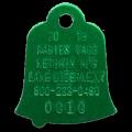 Ketchum 2019 Rabies Tag (bell shape)
