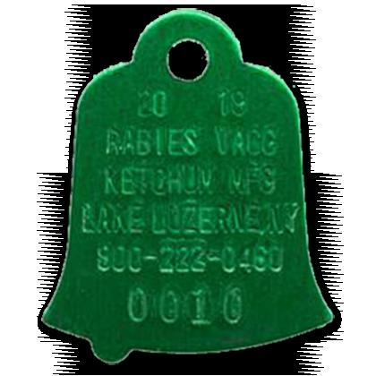 CVMA | Rabies Tags |Dog With Rabies Tag